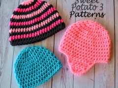 Basic Crochet Hat Pattern