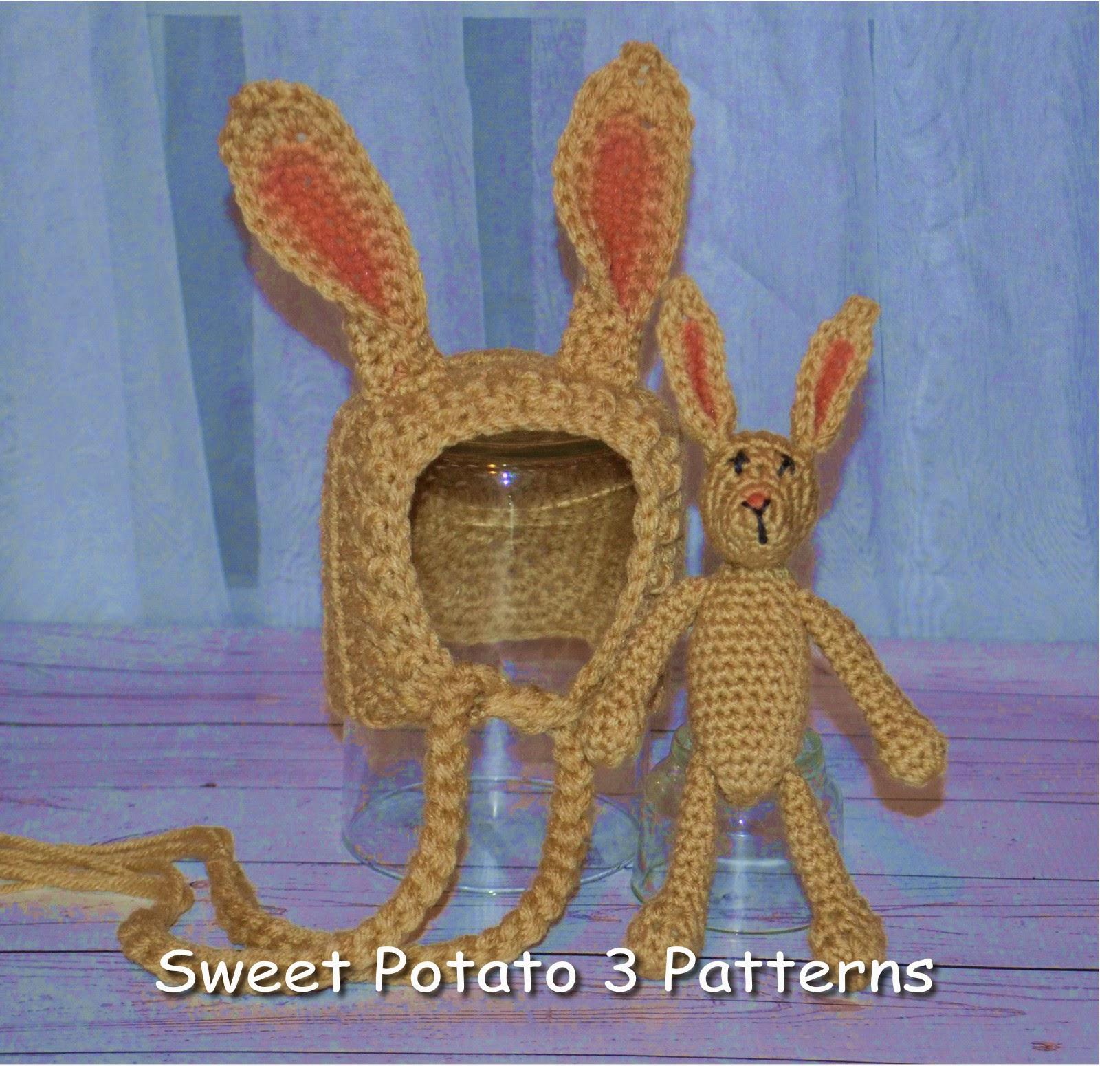 Bunny & Fox Bonnets & Stuffy Pattern Releases!