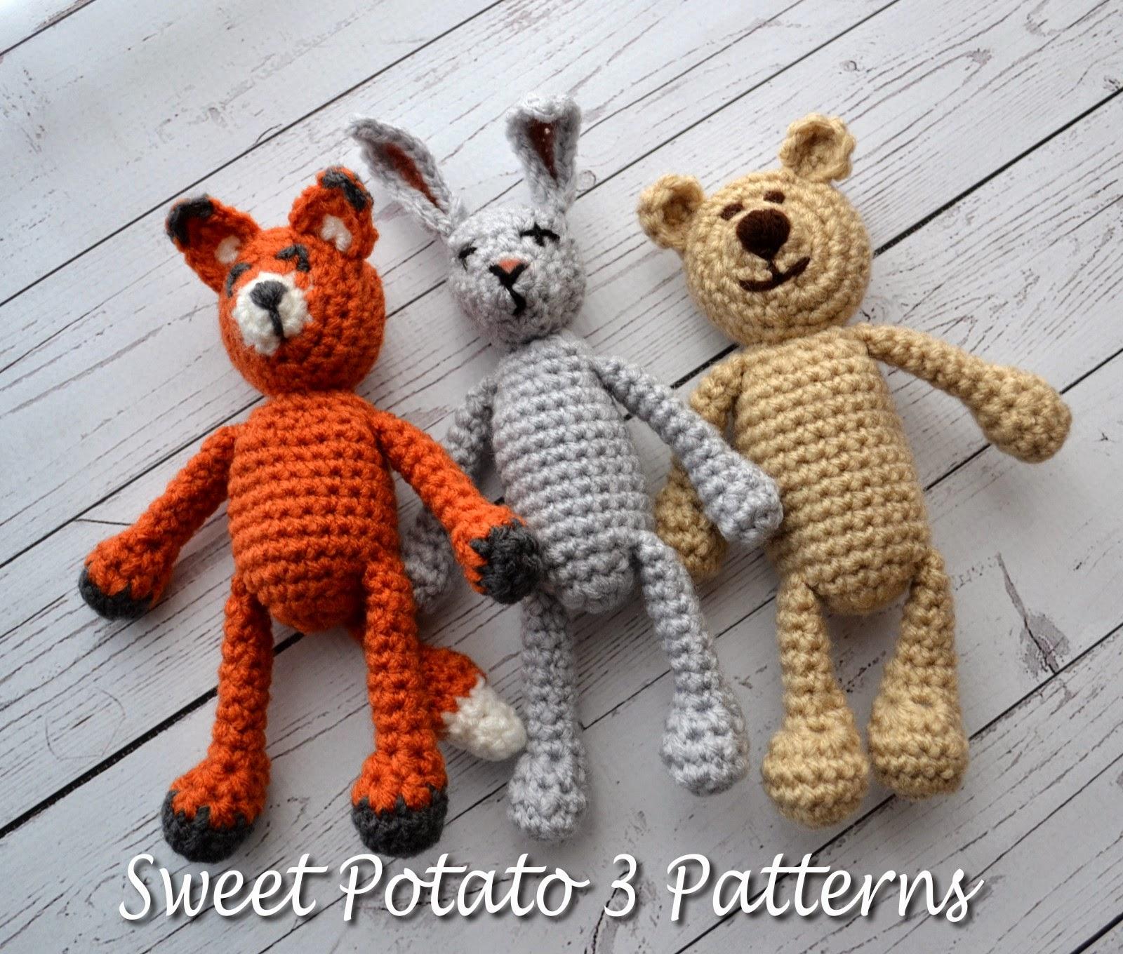 Animal Stuffy Set – Pattern Release