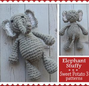 Elephant Stuffy Pattern Release