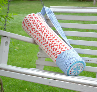 Serenity Yoga / Beach Tote Crochet Pattern