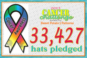 Crochet Charity Cancer Challenge – Final Pledge Count 2015