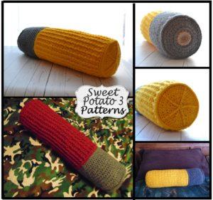 Shotgun Shell Pillow Cover – Crochet Pattern