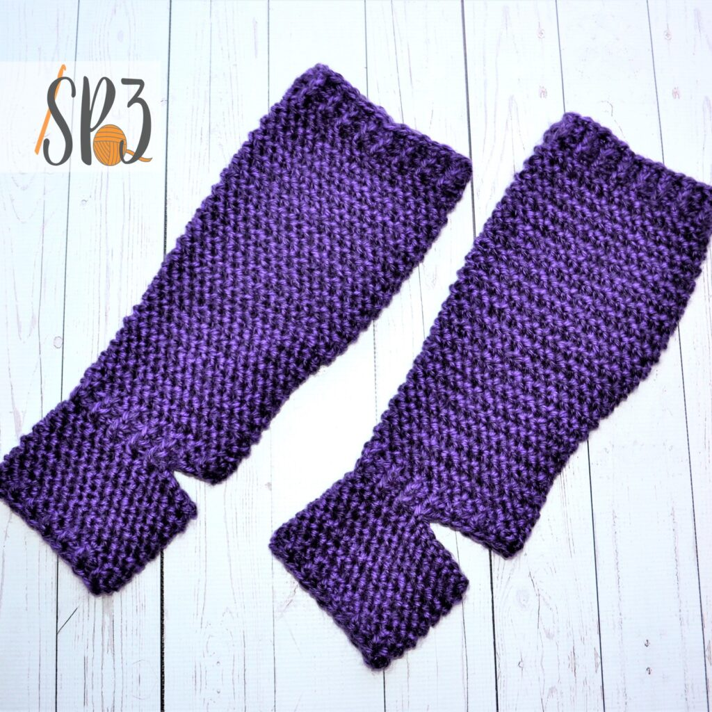 Crochet Pattern - Footed Leggings