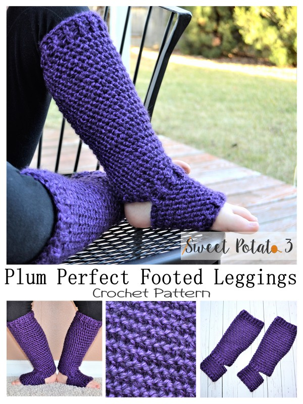 Plum Perfect Footed Leggings