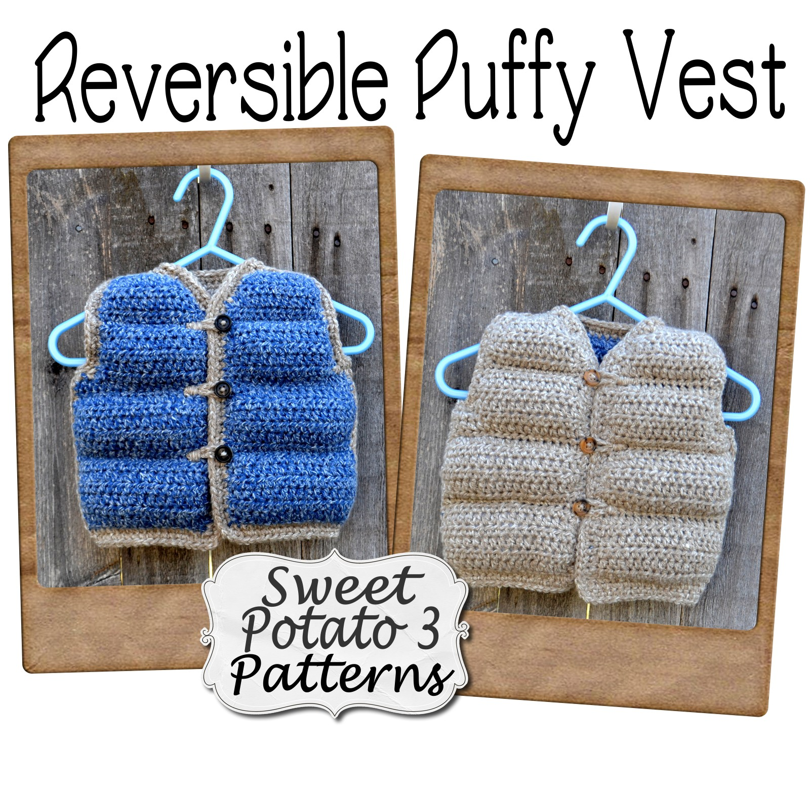 You are currently viewing Reversible Puffy Vest – Crochet Pattern