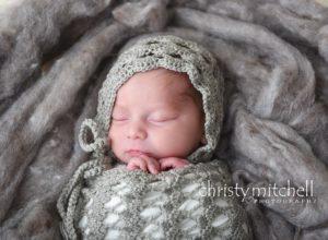 Trellis Newborn Bonnet & Cocoon  Set – Crochet Pattern