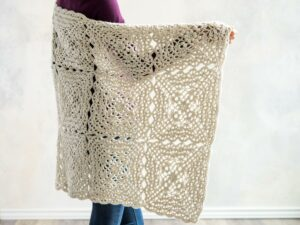 Flower Petal crochet Blanket