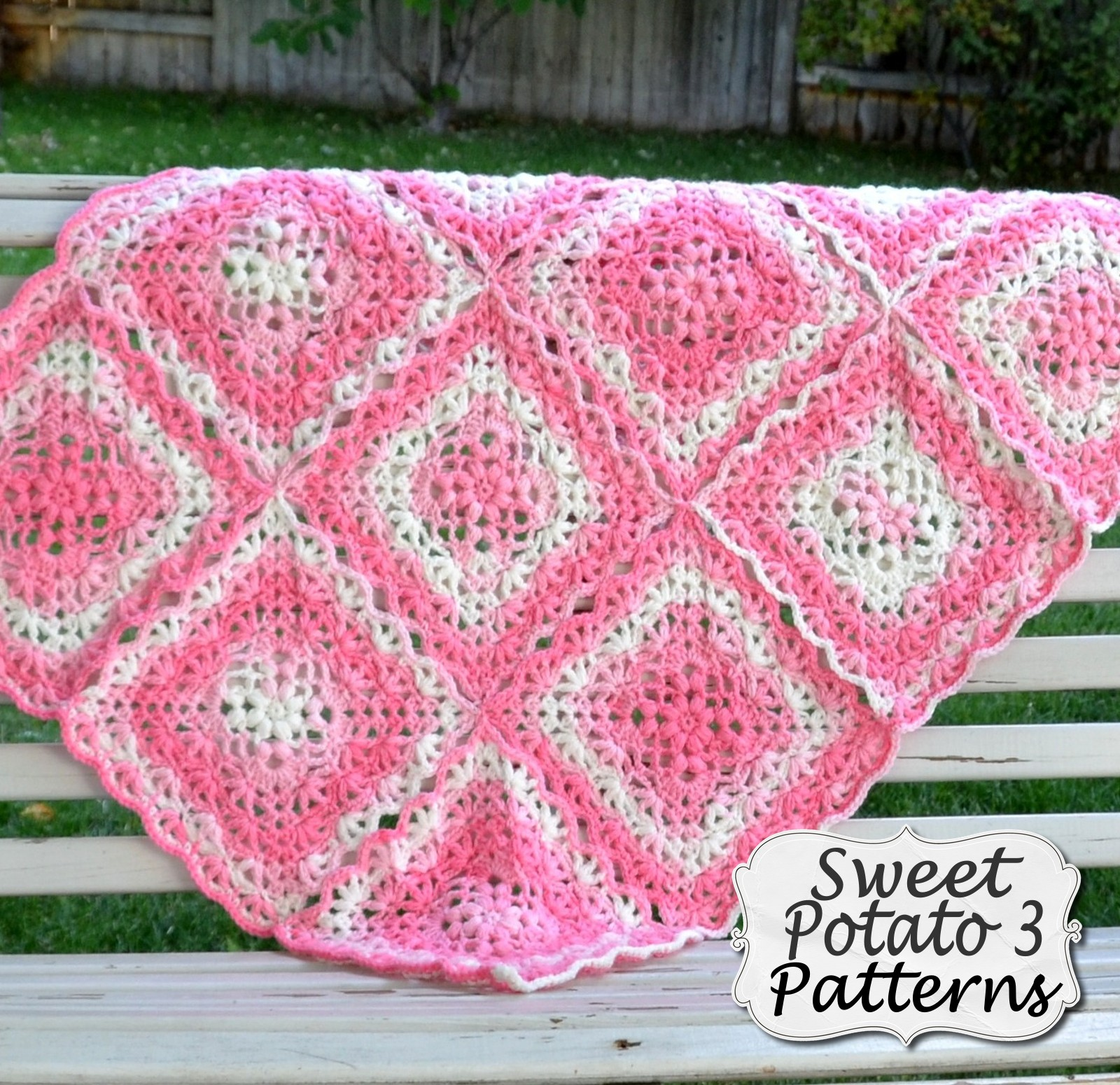 Flower Petal Blanket – Crochet Pattern