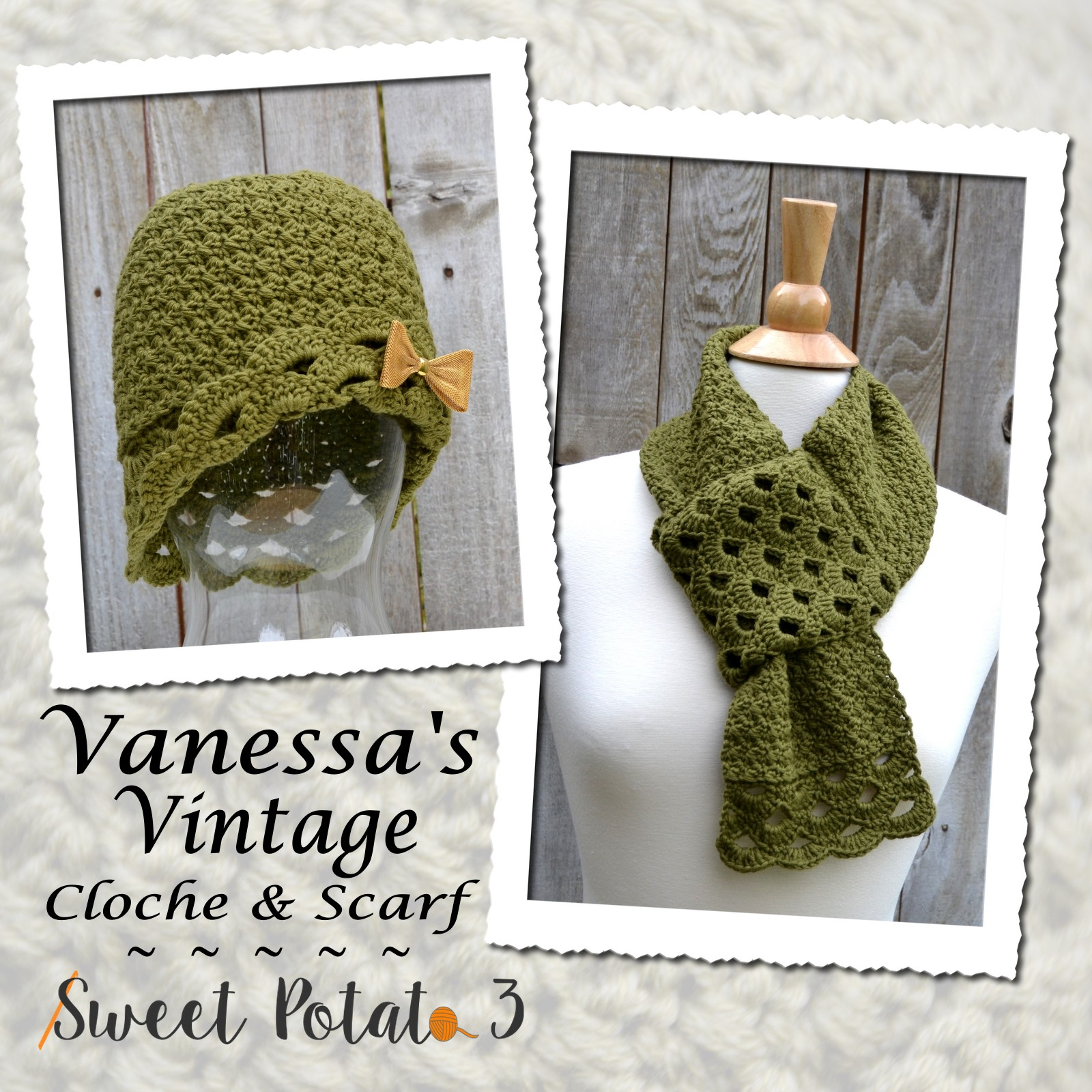You are currently viewing Vanessa's Vintage Cloche & Scarf