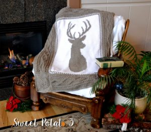 Read more about the article Deerly Beloved Blanket – Crochet Pattern