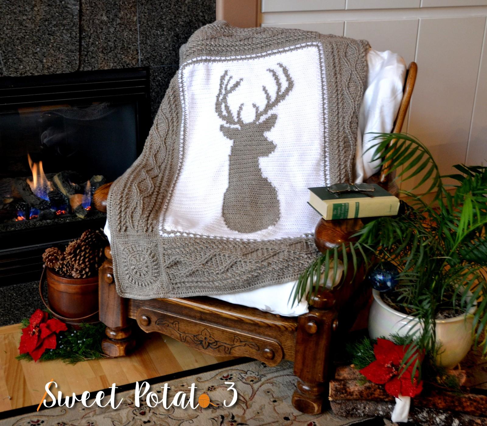 Deerly Beloved Blanket – Crochet Pattern