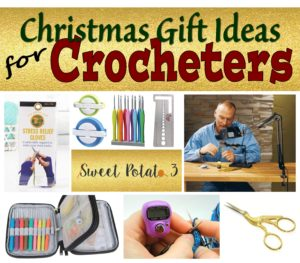 Gift Ideas for Crocheters (forward on to the hubby)!