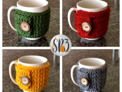 Coffee Cozy Sweater Wrap Pattern