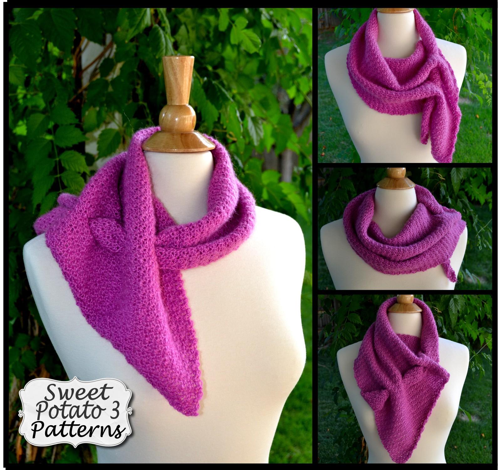 Interlace Scarf and Wrap Crochet Pattern
