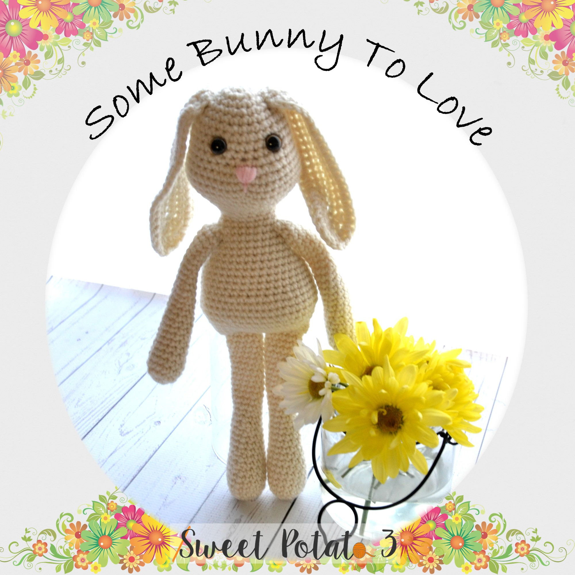Some Bunny To Love Crochet Pattern