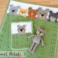 Sleep Tight Teddy Bear Set - by Sweet Potato 3