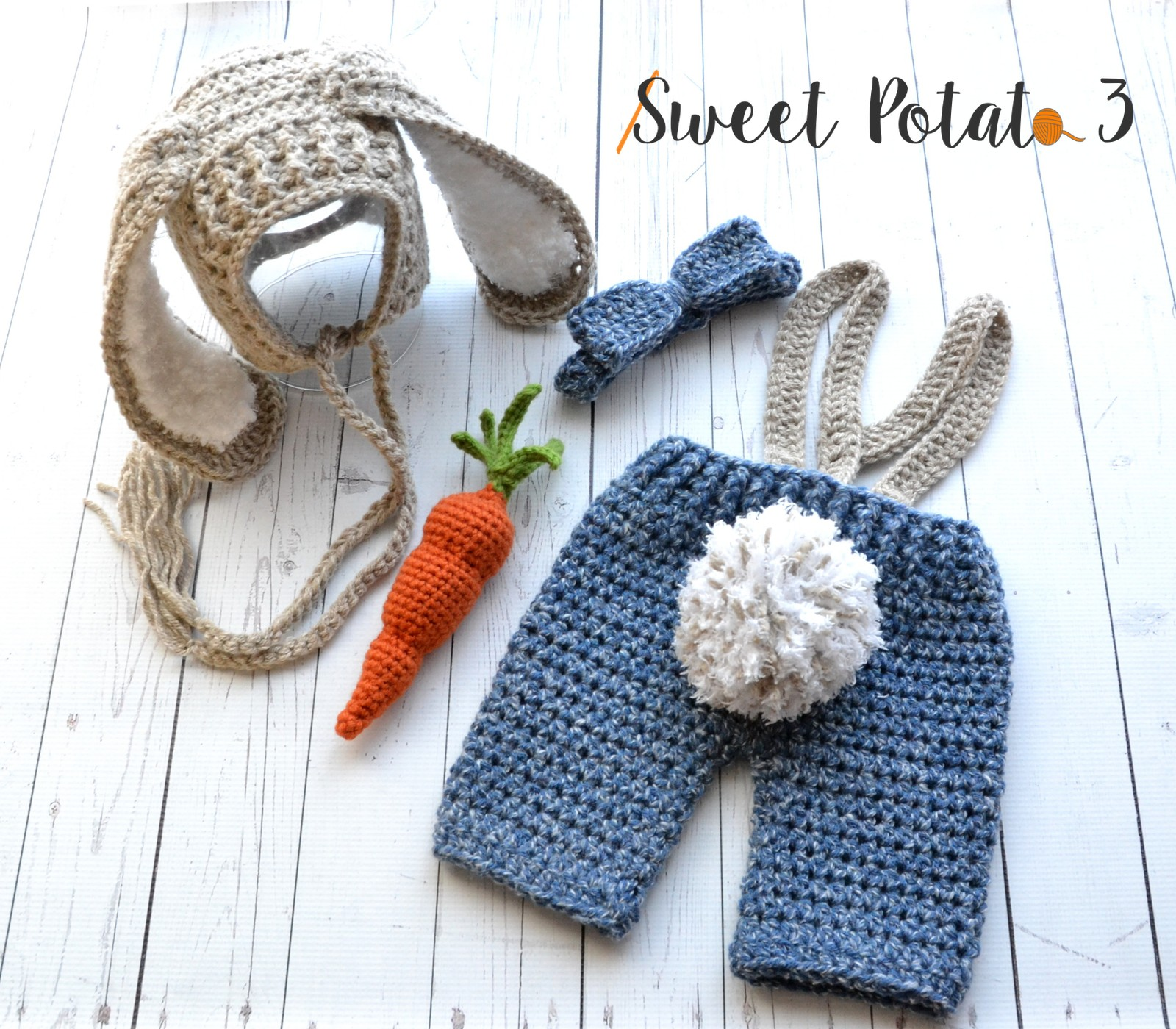 Bunny in Britches Set – Crochet Pattern