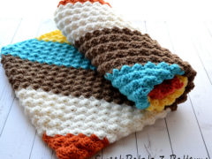 Diagonal Delights Blanket