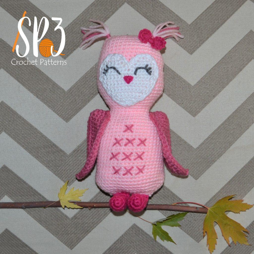 In Cahoots Owl crochet pattern
