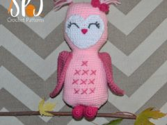 In Cahoots Owl crochet pattern