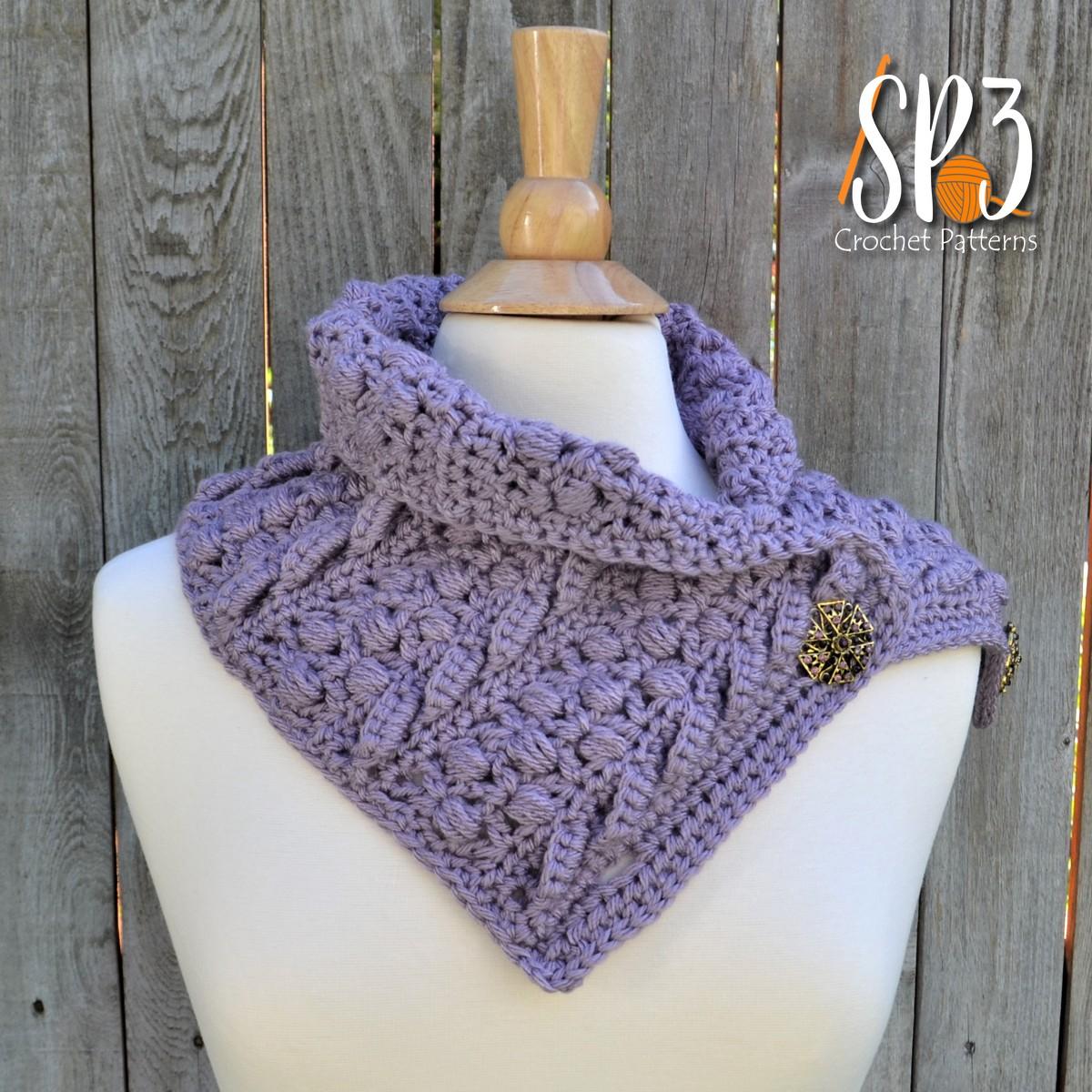 Boulder Creek Scarf Crochet Pattern