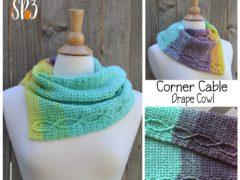 Corner Cable Drape Cowl