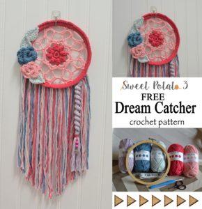 Dream Catcher Delight – Free Crochet Pattern