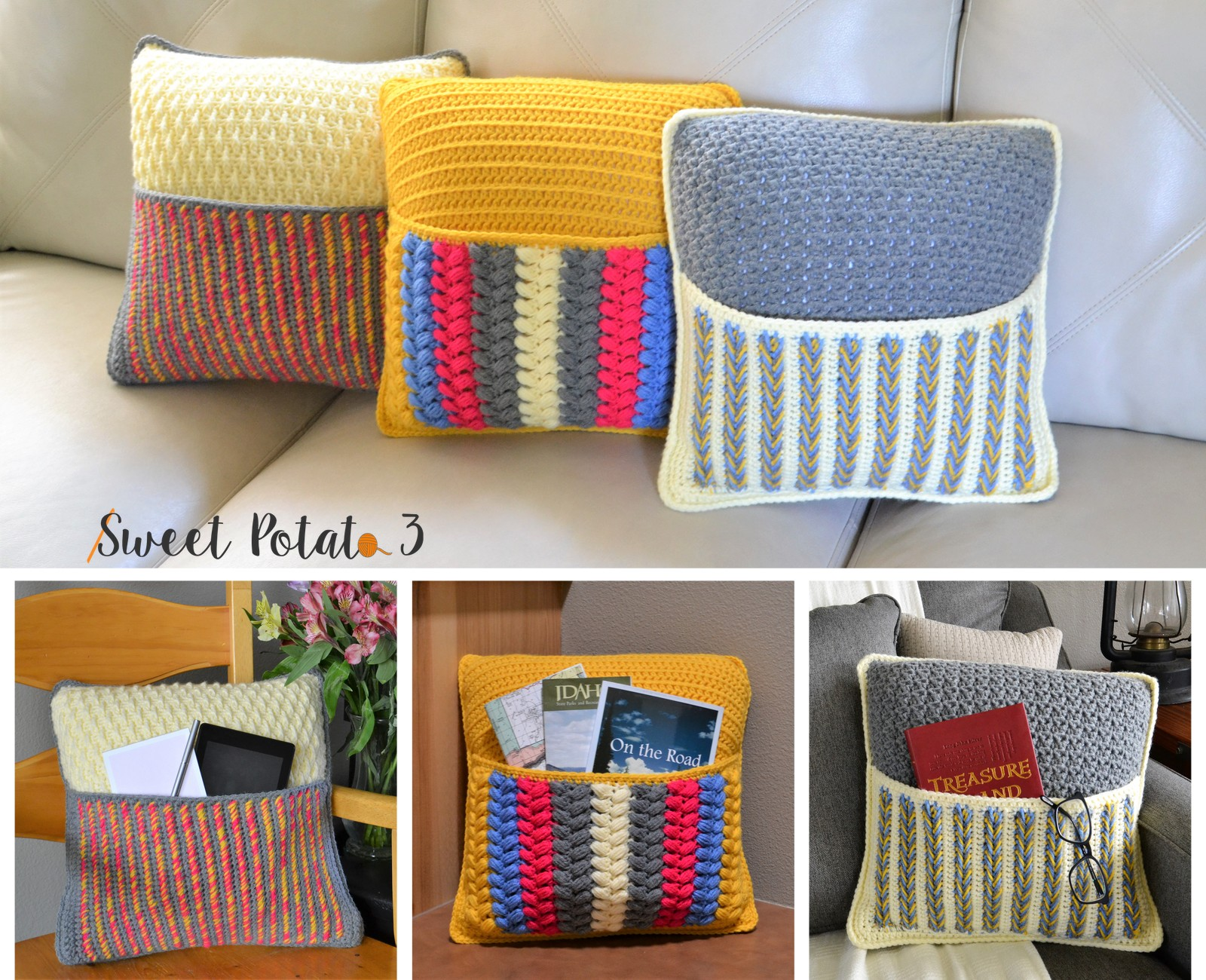 You are currently viewing Pocket Pillow Pattern – Texture, Texture, Texture
