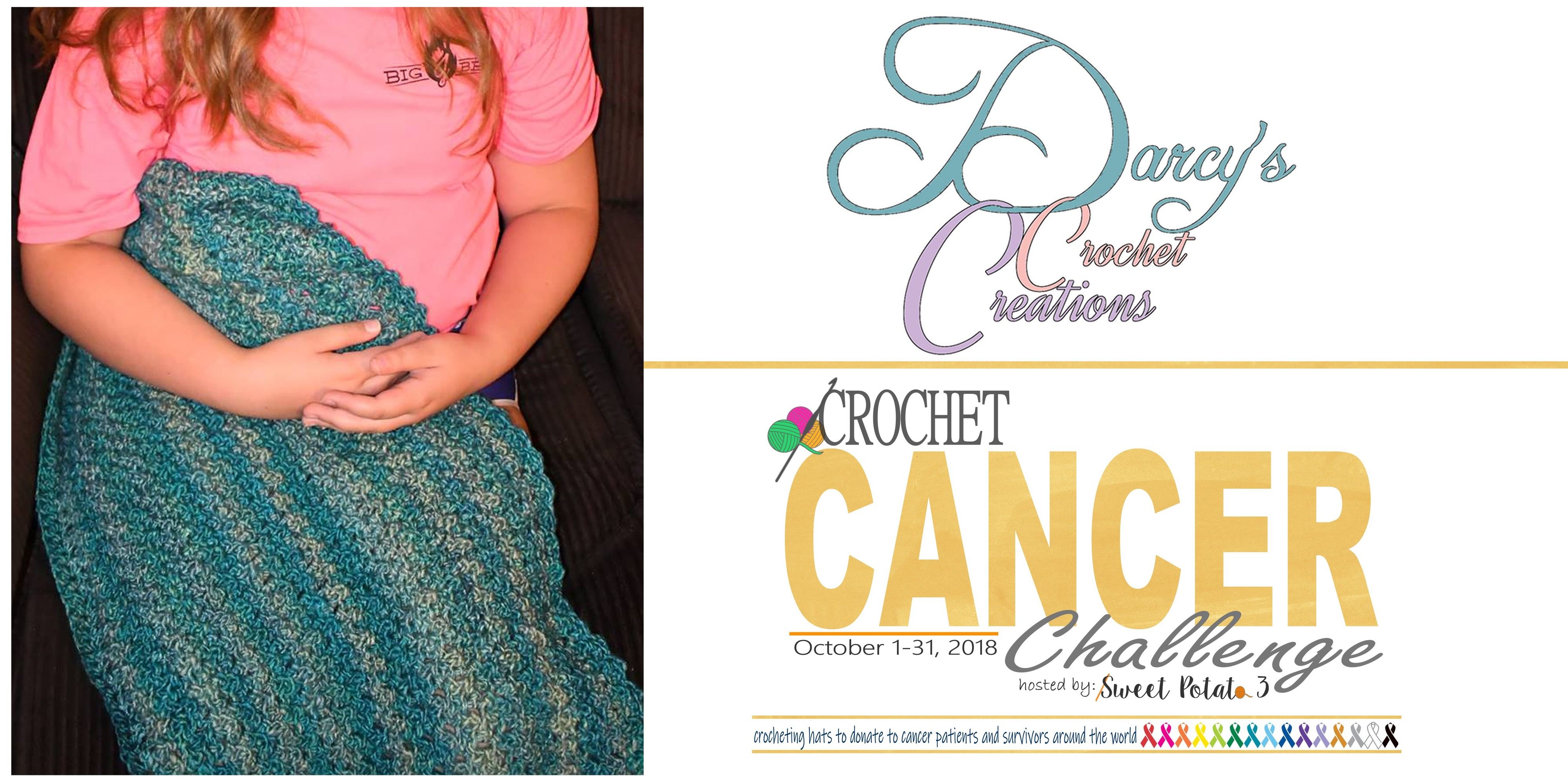 Day 6: Cancer Challenge – Darcy's Crochet Creations