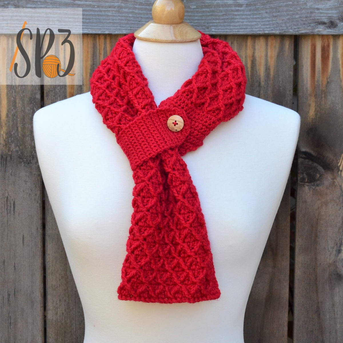 You are currently viewing Lattice Scarf Remix with Nicki's Handmade Crafts