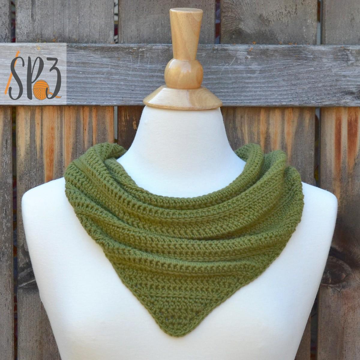 Girlfriend Mini Scarf Crochet Pattern
