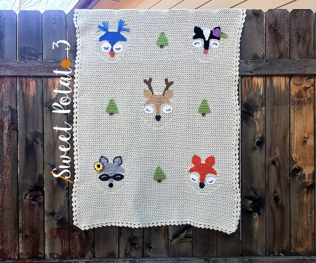 Forest Friends Blanket