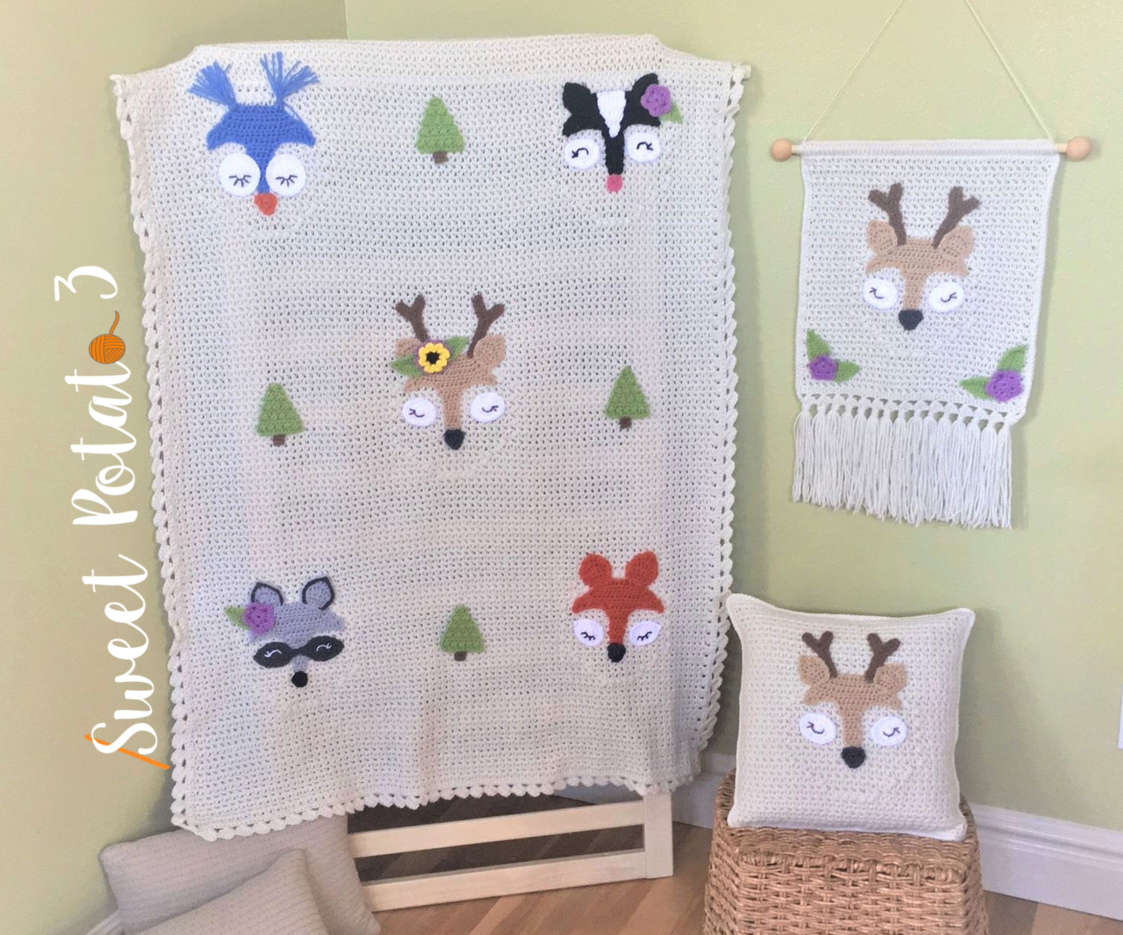 You are currently viewing Forest Friends Crochet Pattern Set