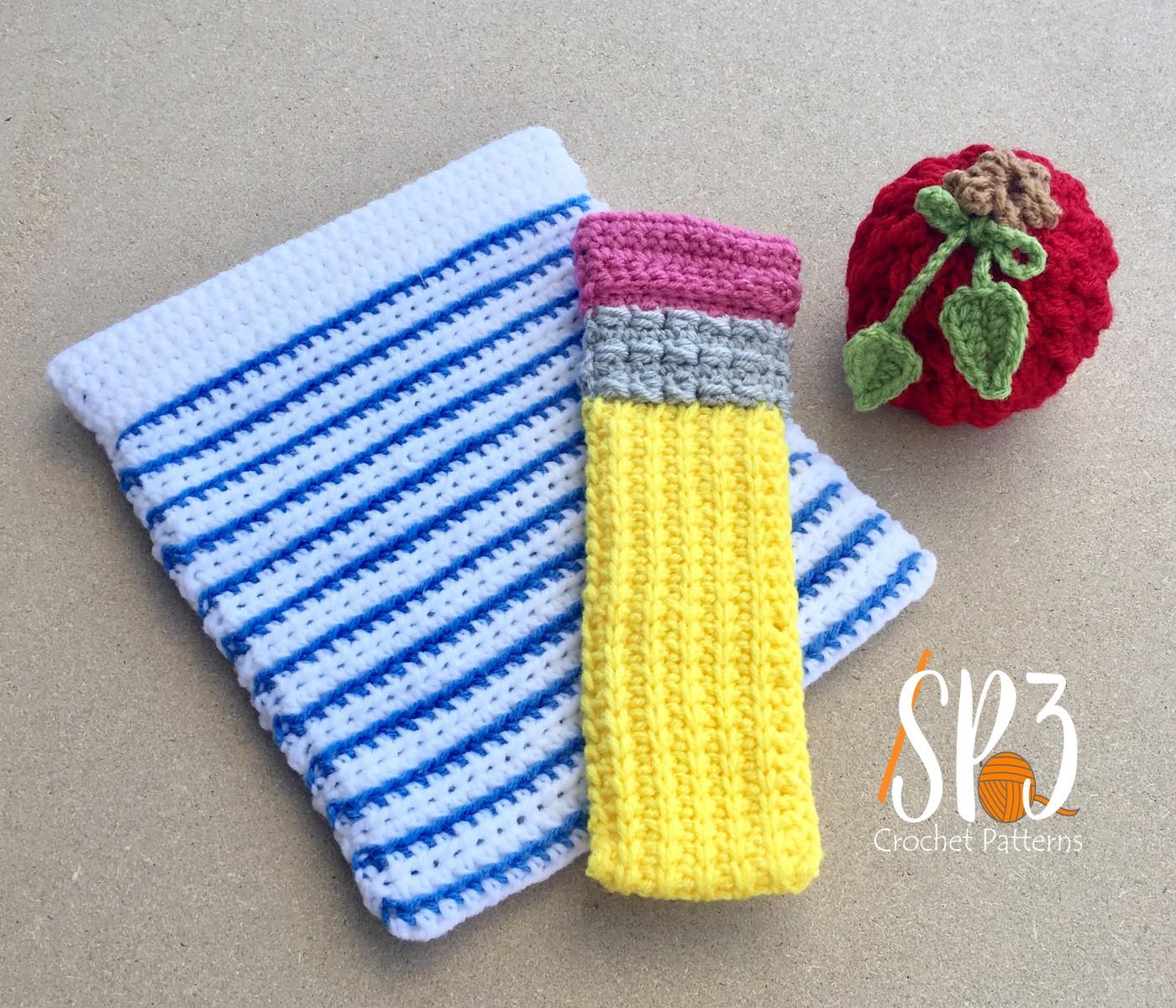 Teachers Take Note – Crochet Gift Set