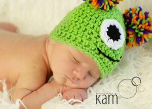 Monster Crochet Hat Pattern {Free}