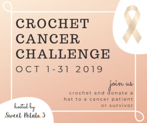 Week 2: Crochet Cancer Challenge 2019