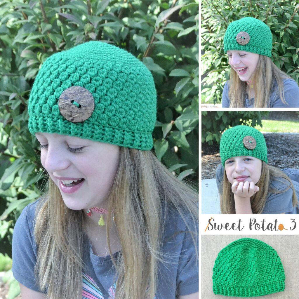 Emerald STone Hat