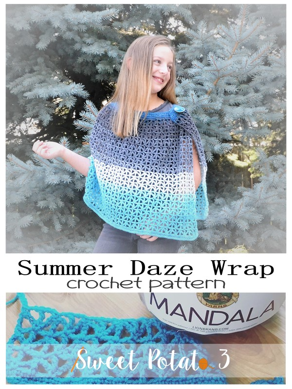 summer daze wrap crochet pattern