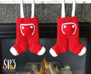 Long John Stockings Crochet Pattern