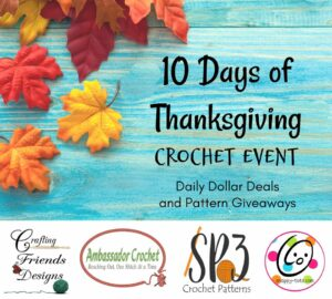 Thankful Crochet Event – 10 Days of Pattern Deals