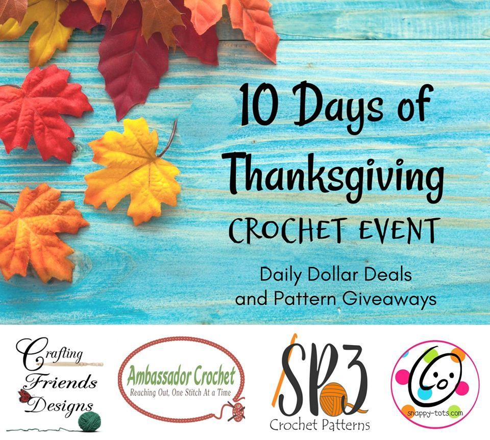 Thankful Crochet Event – 10 Days of Pattern Deals