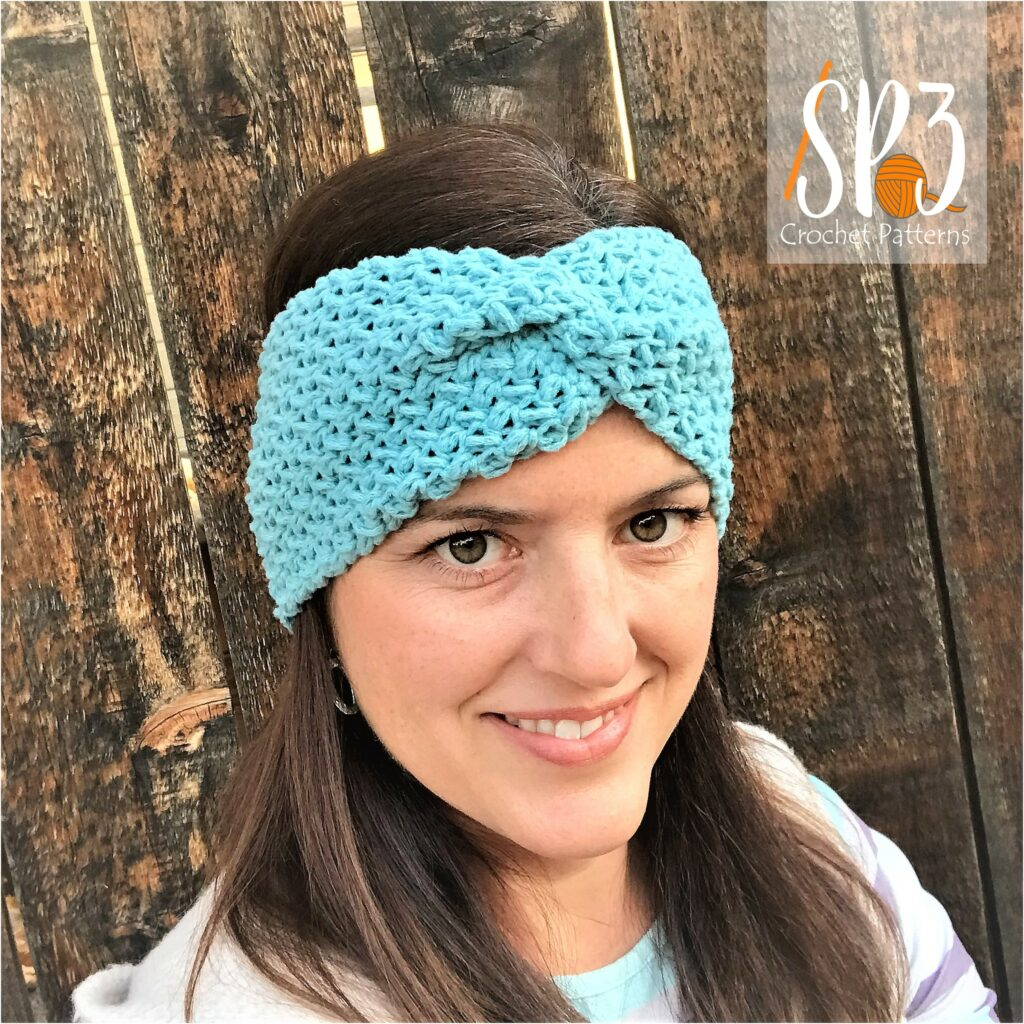Mini Bean Stitch Ear Warmer Pattern