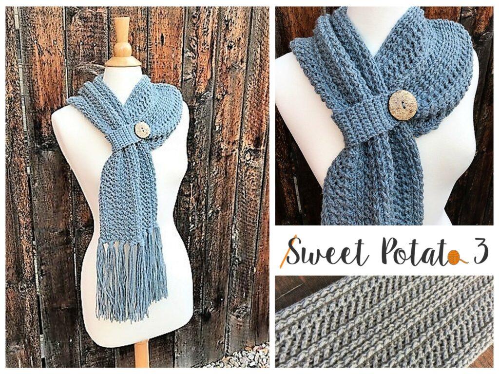 Winter Wishes Scarf Crochet Pattern