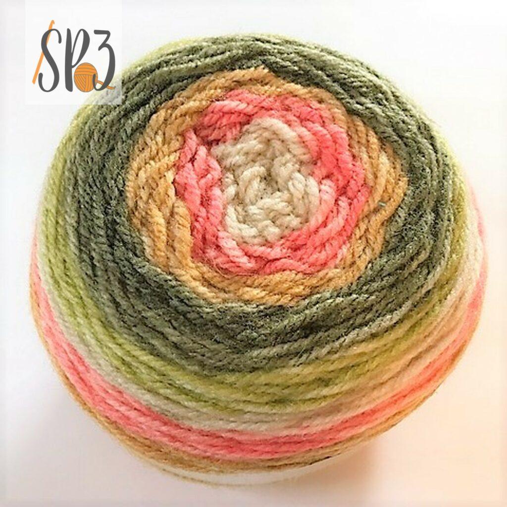 Sprightly Self Striping Yarn
