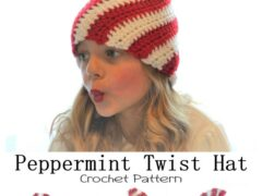 Peppermint Twist Hat
