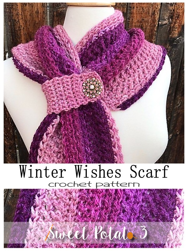Winter Wishes Scarf Pattern