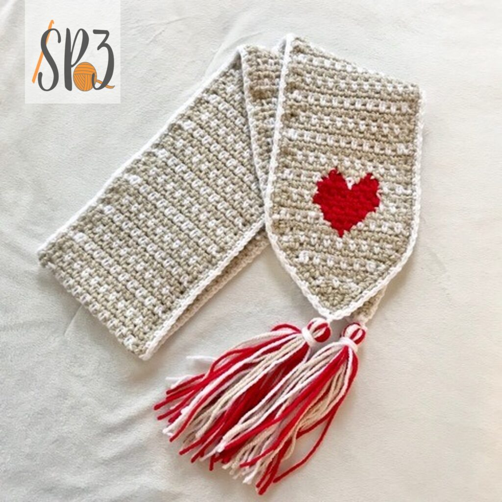 Hearts of Love Scarf