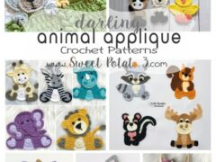 Darling Animal Appliques