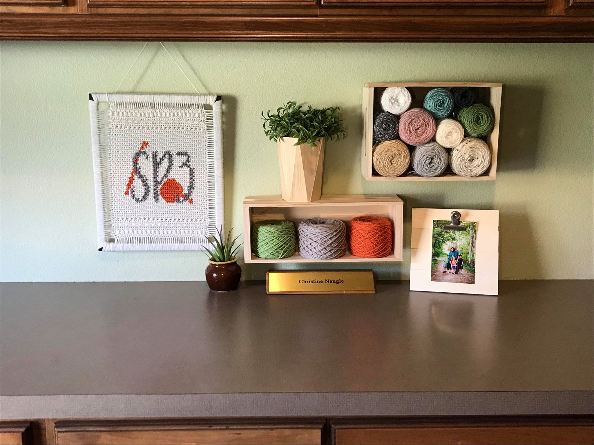 Sweet Potato 3's Home Office Display